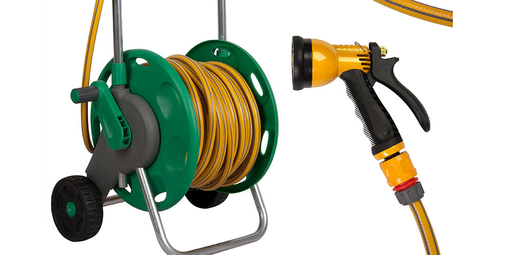 Steps For Attaching Your Water Hose To The Hose Reel